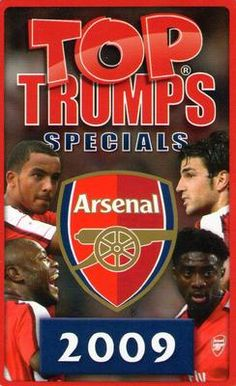 2009 Top Trumps Specials Arsenal #NNO1 Title Card Front