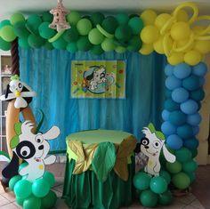 Birthday decoration  primer añito         Doki