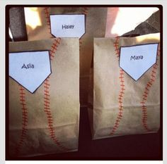 Cute idea for the bags since I will already be using a red sharpie for the snacks.