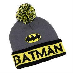 batman knit beanie!