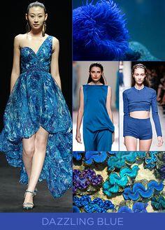 Spring 2014 Color Trends Dazzling Blue TENDÊNCIAS PRIMAVERA / VERÃO 2014... Dazzling Blue