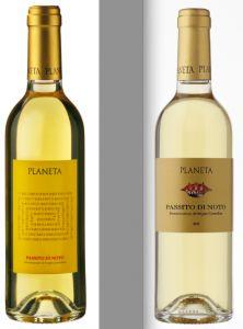 Annata 2011 - La nuova etichetta del Passito di Noto Doc Planeta