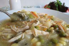 Chicken Pot Pie Crockpot Recipe