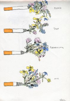 cigarettes by hey, there you are, via Flickr