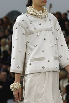 Chanel/ It's a case of the bigger the better this season