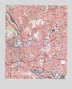 Los Angeles Ca Usgs Topographic Map