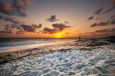 Photograph wonderful summer on a solitary beach by Giorgio Pirola on Photograph, Sea, Celestial, Sunset, Outdoor, Photography, Outdoors, Photographs, The Ocean