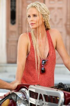 Charlize Theron in Fast and Furious 8