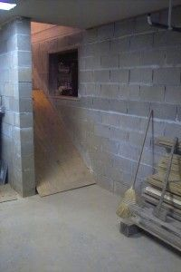 underground basement storage wine cellar root cellar bunker