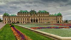 Castle Schloss Belvedere in Vienna, Austria by Elena Duvernay French Trip, Geneva Switzerland, Travel Around Europe, Framed Prints, Canvas Prints, Vienna Austria, Photo Art, Castle, Louvre