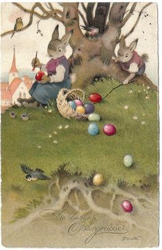 Fritz Baumgarten (1926) Easter card
