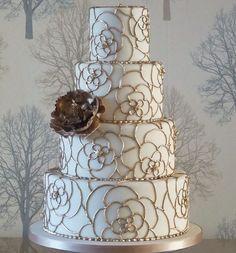 Gorgeous Wedding Cakes from Rachelle's