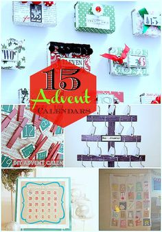 Get your family in the Christmas spirit with a DIY Advent Calendar. Here are 15 Advent Calendar ideas. Christmas Time Is Here, Merry Little Christmas, Noel Christmas, Christmas Countdown, Merry Xmas, Winter Christmas, Diy Advent Calendar, Advent Calendars, Calendar Ideas