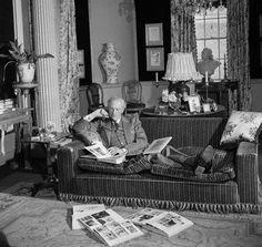 Cecil Beaton at Reddish House