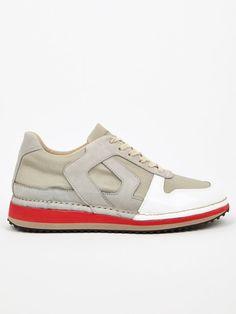 Maison Martin Margiela 22 Men's White San Crispino Running Sneakers | oki-ni