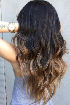 Best Ombre Fall Hair Colors That are Perfectly on Point ★ See more: http://lovehairstyles.com/best-ombre-fall-hair-colors/