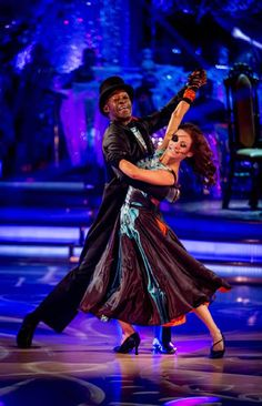 Patrick Robinson and Anya Garnis Perform In Week 6 Of Strictly Come Dancing 2013