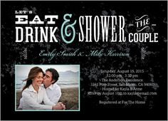 Vintage Affair 5x7 Photo Card | Bridal Shower Invitations   You like?
