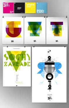 Get Art!   Corporate Identity   Designer: Stanislav Bilek   Image 3 of 3