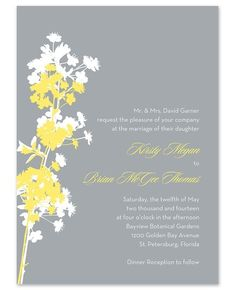 In The Meadow Invitations by Stacy Claire Boyd -- FineStationery.com