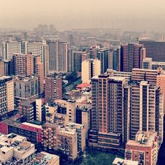 Johannesburg, South Africa\\ I wanna go back...