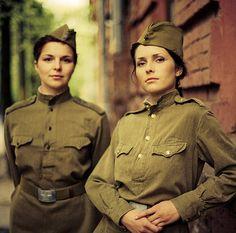 Anya and Olga by Alex Veledzimovich