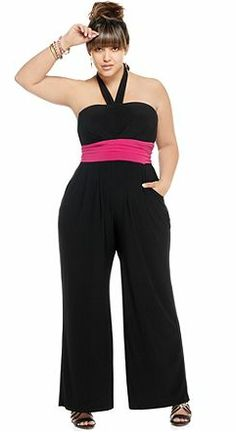 Tips For Wearing Plus Size Jumpsuits | http://whatwomenloves.blogspot.com/2014/05/tips-for-wearing-plus-size-jumpsuits.html