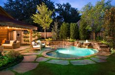 One day, when we have our own house! I'd like the pool to look somewhat like this