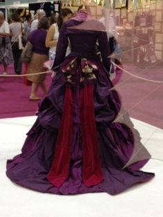 The Phantom of the Opera, costume worn by Minnie Driver as Carlotta. #CostumeDesign: Alexandra Byrne