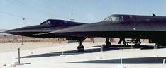 A-12 Oxcart (foreground) vs SR-71 Blackbird (background)