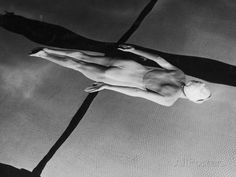 Swimmer Jeanne Wilson Underwater Photographic Print by Wallace Kirkland at AllPosters.com