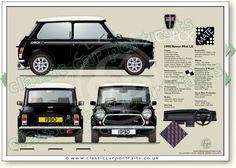 Mini Cooper Classic, Classic Mini, Classic Cars, Mini Morris, Retro Cars, Vintage Cars, Classic Car Restoration, Morris Minor, Classic Mercedes