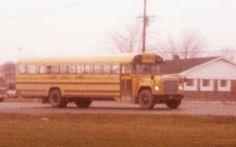 Old School Bus, School Buses, International School, Archer, Hunters, December, Yellow, Board, Sterling Archer