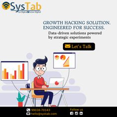 Growth Marketing is a process of devising strategies for the entire marketing funnel. This includes creating several sets of experiments at different stages of the funnel & scaling up the ones that work the best. Basically, digital growth marketing is a scientific method that focuses more on the analytical side of marketing. #growthstrategy #growthmarketing #growthhacking #digitalmarketing #digitaladvertisement #digitalbranding #SysTab #Godigital #growdigital Facebook Marketing, Social Media Marketing, Digital Marketing, Website Development Company, Growth Hacking, Scientific Method, Google Ads, Engineering, Advertising