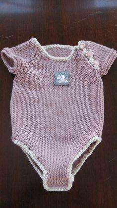Ravelry: amylegg's Cotton Knit Onesie