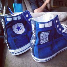 Doctor Who Converse. :o