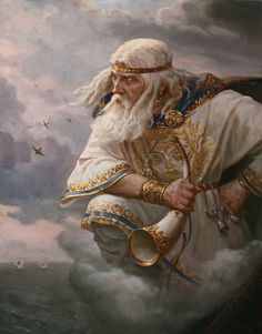 Stribog by Andrey Shishkin(well-known artist, who was born in Moscow in 1960. Here he lives and works now. This Russian artist works in the style of realistic academic painting and creates paintings that delight in its splendor).