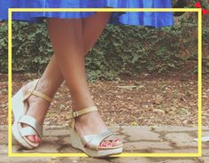 Tip Alert:  GOING OUTDOORS? SAY NO TO STILETTOS. It will be difficult to walk when your heels keep sinking into the ground, and you'll ruin your shoes. Flats are fine, but if you want height, wedges are an ideal option.  #Shoes #INTOTOs #ShoeTip #Outdoors #Wedges
