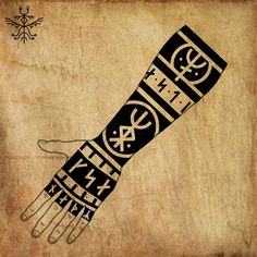 Rune Viking, Viking Tattoo Symbol, Norse Tattoo, Viking Tattoo Design, Celtic Tattoos, Viking Tattoos, Warrior Tattoos, Thai Tattoo, Maori Tattoos