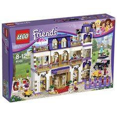 LEGO 41101 Friends Heartlake Grand Hotel LEGO…http://amzn.to/2byrKLa
