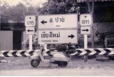 Zen, Freedom and Scooters: On a Vespa from Chiang Mai to Bangkok