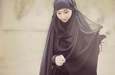 Now this is proper Hijab MashAllah!