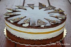 SÜTIK BIRODALMA: Narancsos túrótorta Hungarian Cake, Hungarian Recipes, Sweet Recipes, Cake Recipes, Dessert Recipes, Torte Cake, Cold Desserts, Creative Cakes, Cake Decorating