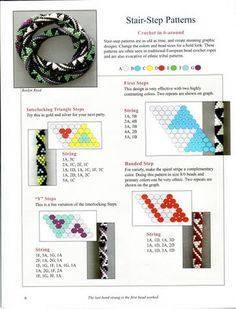 PATTERNS & GRAPHING FOR BEAD CROCHET ROPES - Sabrina - Picasa Web Album
