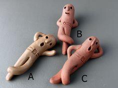 はにわ「ごろごろはにわ」A、B、C|立体・オブジェ|はにわ堂|ハンドメイド通販・販売のCreema
