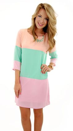 """Oh My Gosh Dress"" just re-stocked at www.shopbluedoor.com! only $46!"