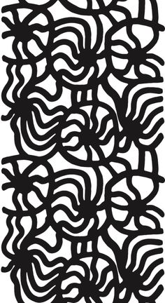 The Marimekko Joonas pattern, designed by Maija Isola in 1961 after a holiday on the Meditteranean. The sea gave the pattern its name; Joonas is Finnish for Jonah. KA