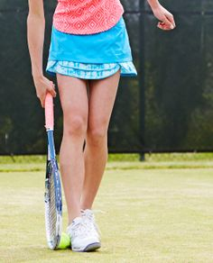 Ace your serve in this skirt with four–way stretch waistband to move with you   Cool On The Court Skirt