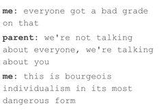 Funny, relatable tumblr posts, school