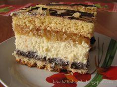 Ciasto Pyszne :) Polish Desserts, Polish Recipes, Cookie Desserts, Poke Cakes, Lava Cakes, Sweet Recipes, Cake Recipes, Hungarian Cake, Cheesecake